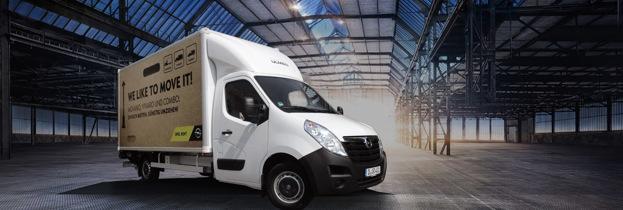 Opel Rent Movano Kofferaufsatz